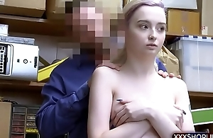 Teen shoplifter suspect got caught increased by punish fucked