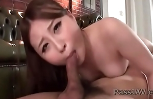 Dewy porn adventure by horny Japanese&nbsp_Rena Arai