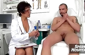 Mature nurse MILF Maya hot nylons