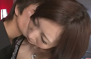 Busty Ayami Gets Help With Some Sex Toys - More at Pissjp.com