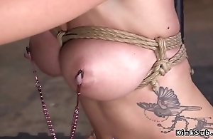 Big tits blonde fucked just about bondage
