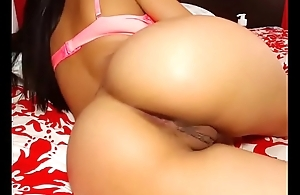 Hot brunette lived sexy big smooth ass show