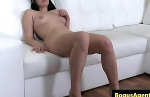 Real euro pussyfucked by casting agent