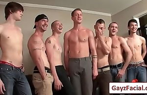 Bukkake Boys - Gay Hardcore bukkake video porno 04