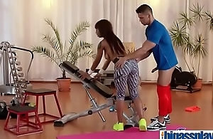 Gym blarney for black bubble butt Milf(Lola Marie) 03 video-09