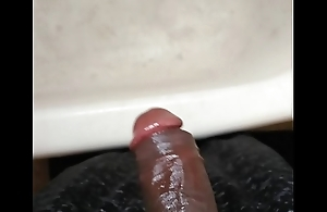 Hard cock huge cock BBC oiled up