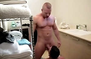 Tidy up with nanny or fucking with muscular