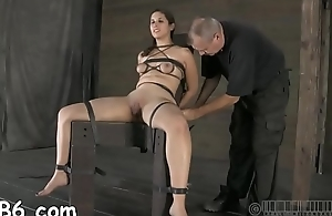 Sweet gal next door waits for her hardcore bdsm torture
